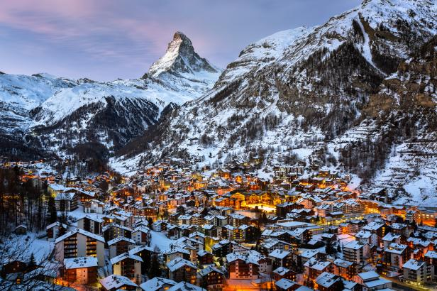 Switzerland, Zermatt,Matterhorn