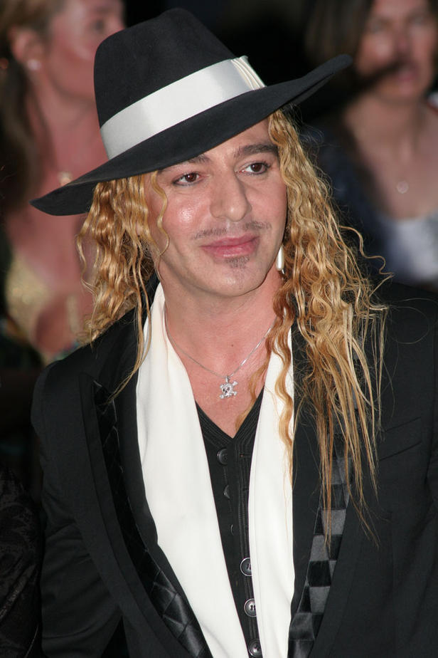 John Galliano in Cannes