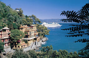 Silver Cloud in Portofino, Italy