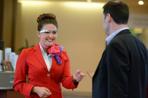 virgin atlantic google glass