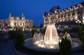 monaco casino fountains