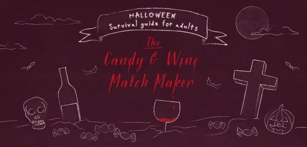 wine pairing,candy