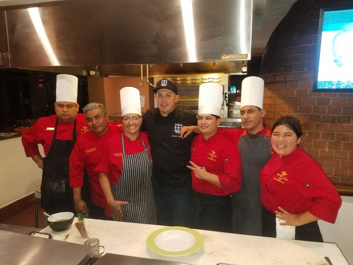 chef david fuerte and team
