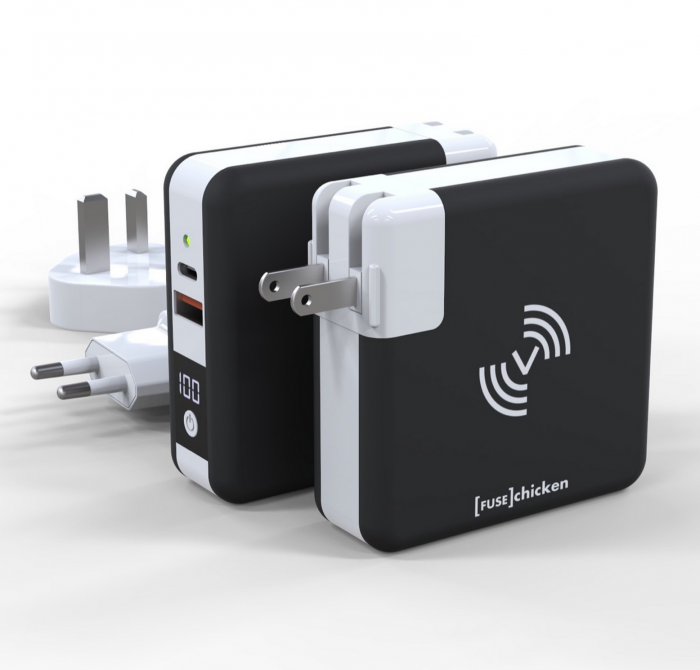 FuseChicken, Universal, Travel Charger, Wireless Charge