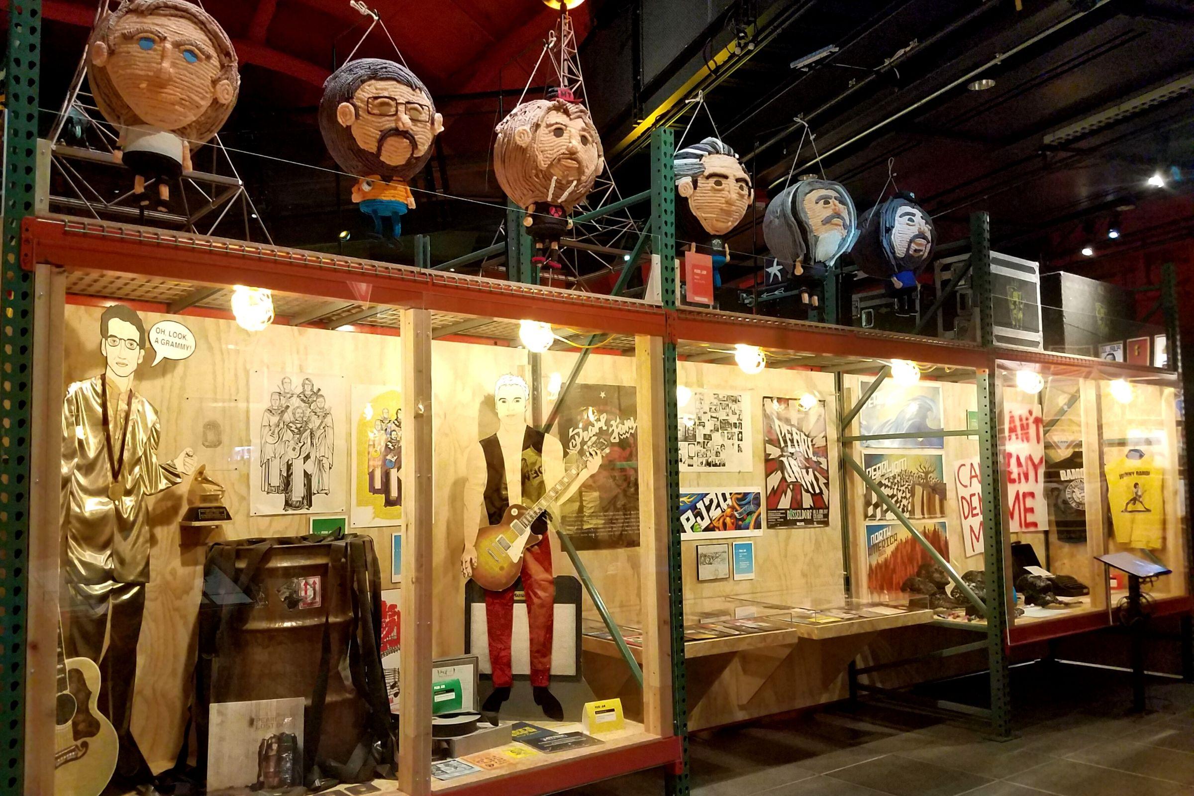 mopop pearl jam exhibit