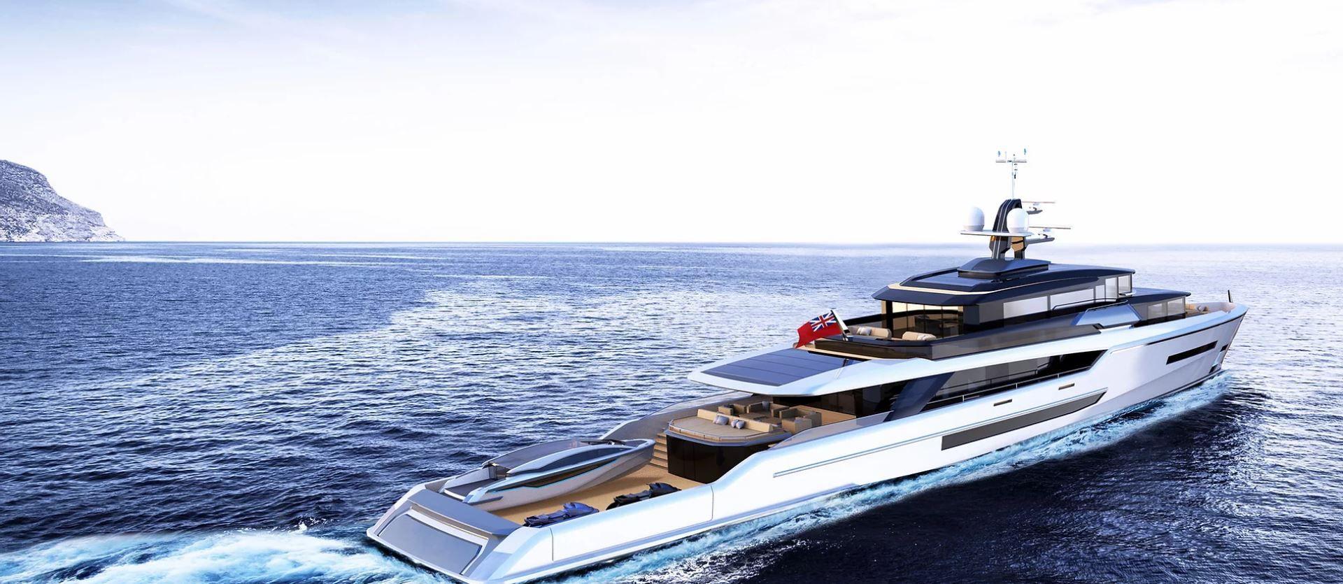 yacht concept, luxury yacht