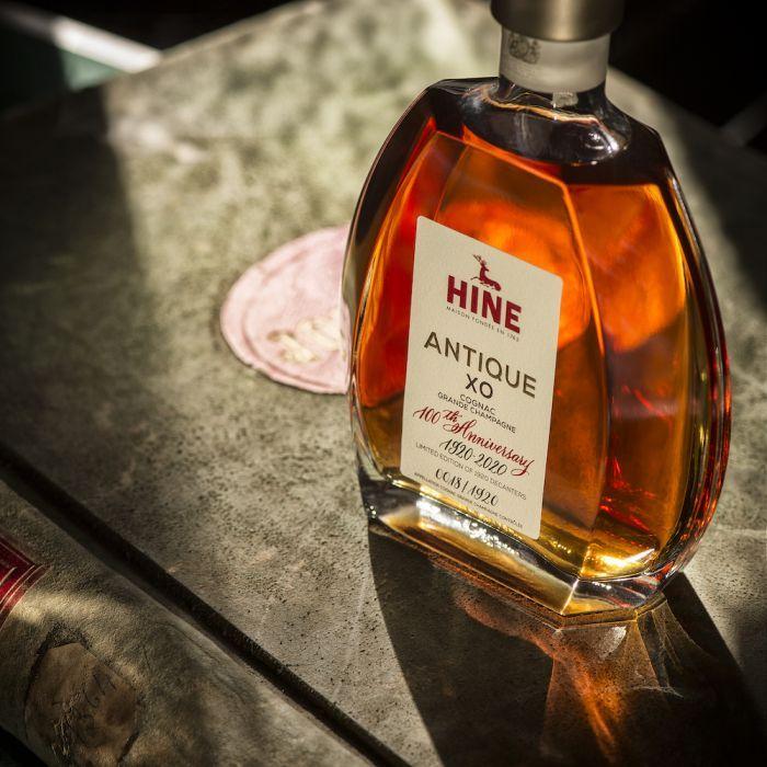 bottle of congnac