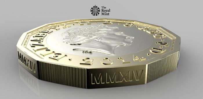 The Royal Mint coin