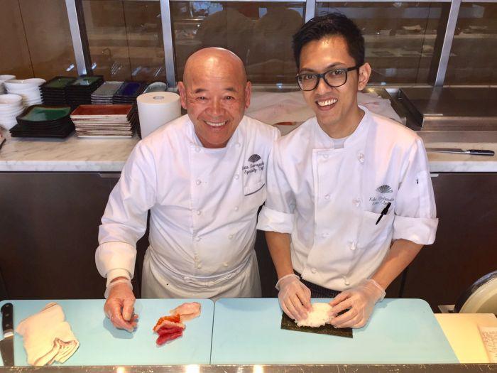 Celebrity Chef Katz with MOzen Sous Chef