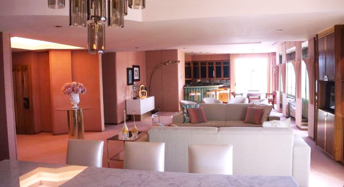 Living Area As Seen From Kitchen, Gaughan Suite