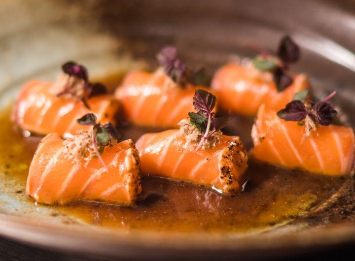 Salmon Truffle Honey