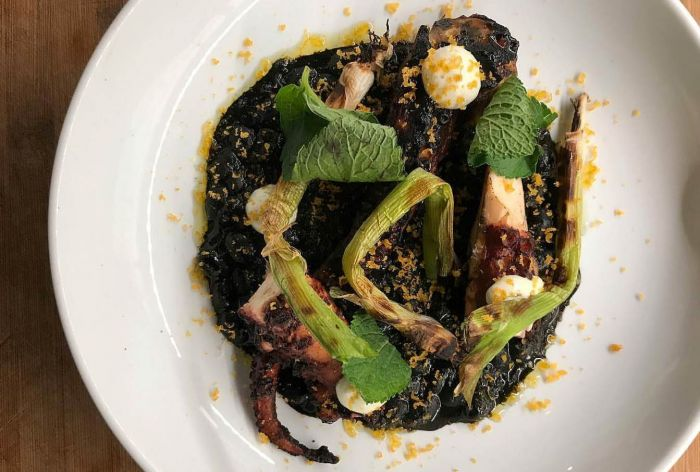 Wood Grilled Octopus