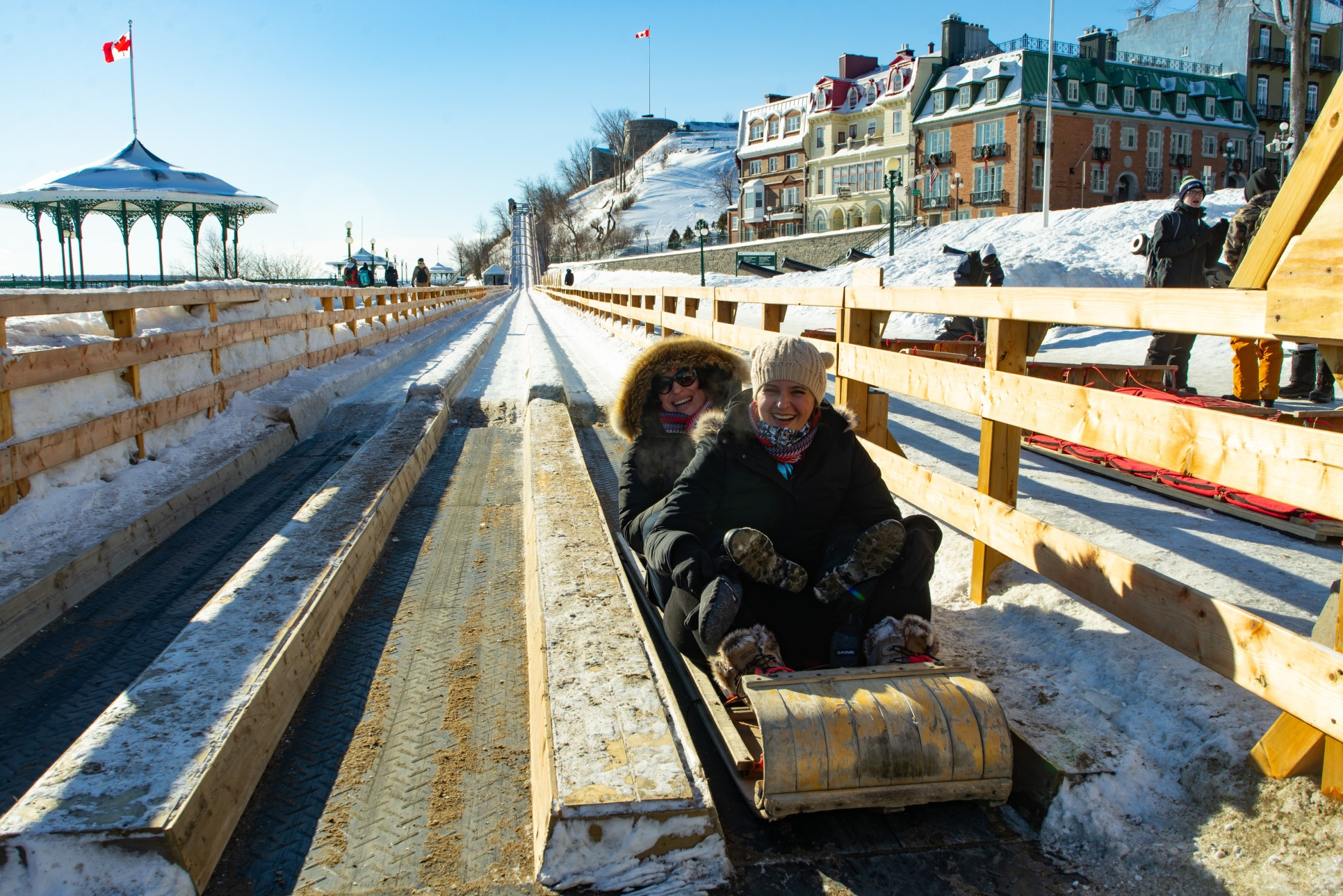 Toboggan Run, quebec city