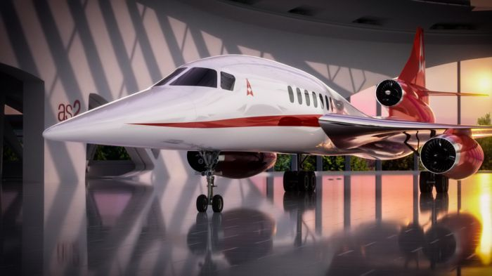 Aerion's AS2 Business Jet to Make Sustainable Supersonic Travel a Reality