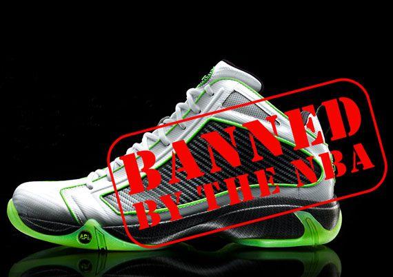 NBA Bans $300 Concept 1 Shoe for 'Undue