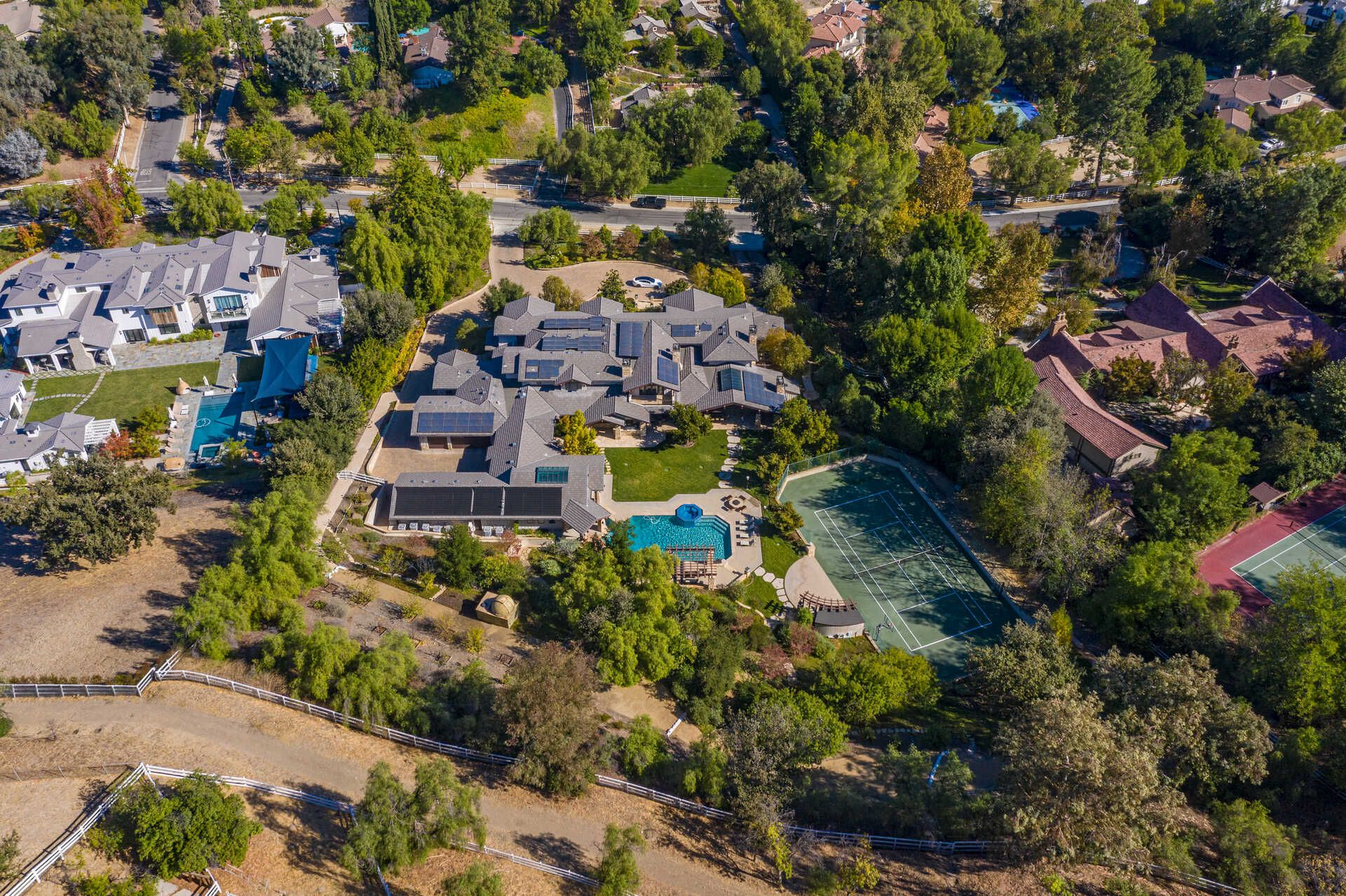 Amazing Hidden Hills Home With Incredible Star War's Collection!