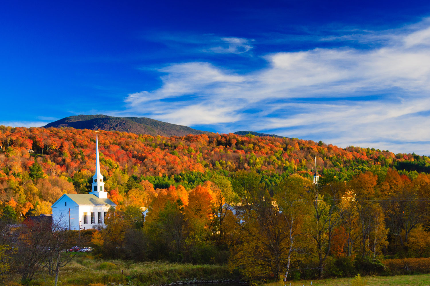 Follow the Fall Colors to Stowe for the Weekend