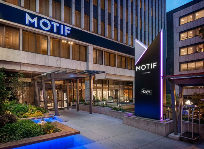 Motif Seattle Delivers A Hotel That Is Just As Unique Artistic Itself