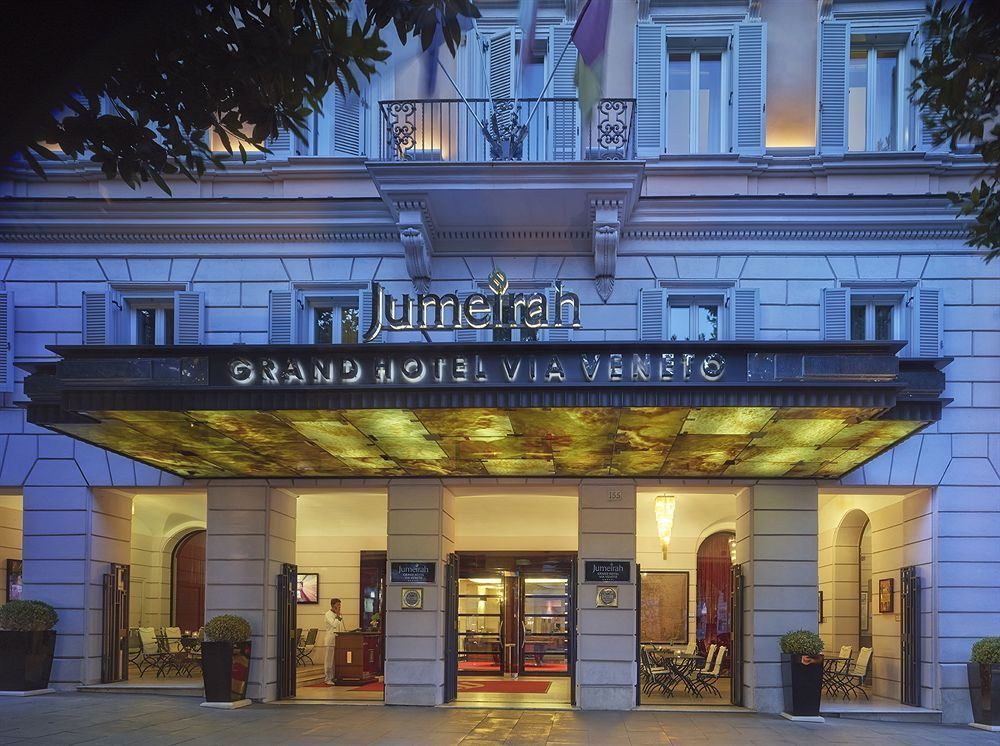 Modern Yet Clic Jumeirah Grand Hotel Via Veneto Offers The Best Of Old New Rome