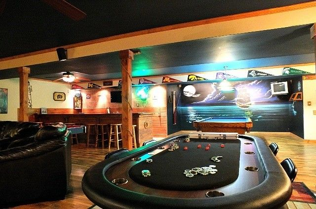 How To Turn Your Basement Into The Ultimate Man Cave
