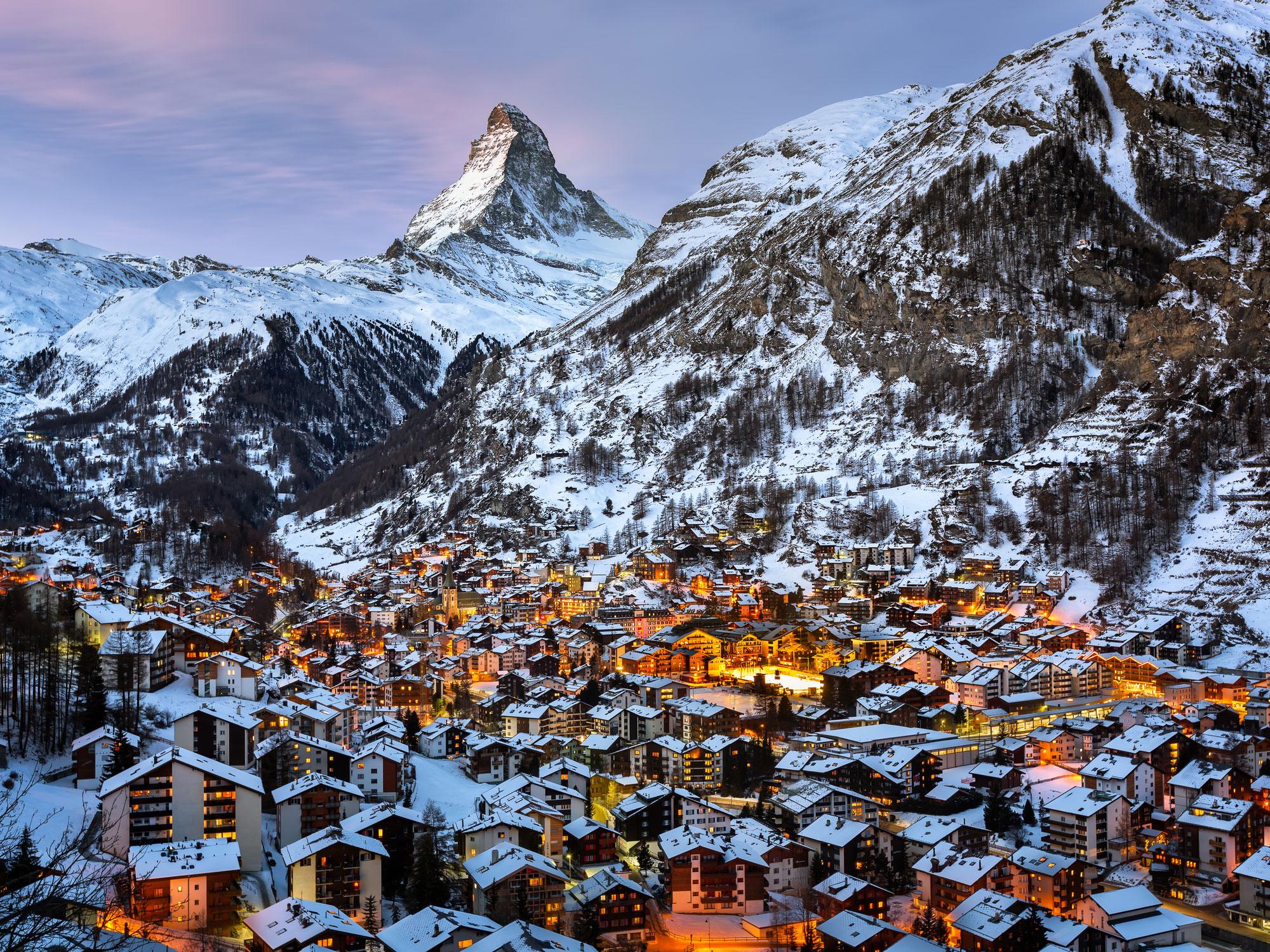 Winklematten is a Swiss Beverly Hills, Tucked Inside of Zermatt