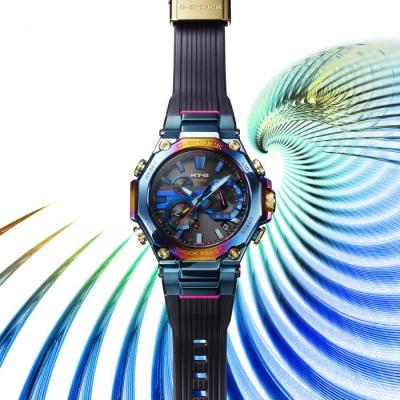G-Shock Expands Rainbow Options with Blue Phoenix